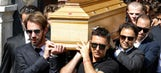 F1: Photos from Jules Bianchi's funeral