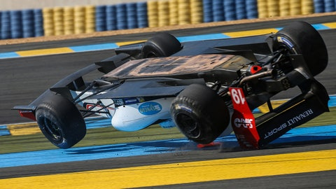 Andre Negrao's roll at Le Mans