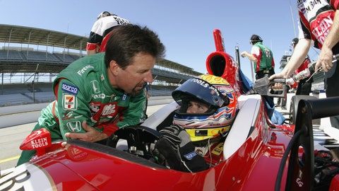 Through the years: Michael Andretti