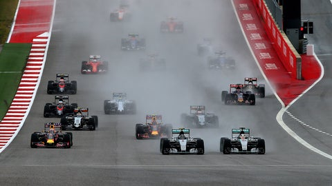 F1: U.S. GP photos