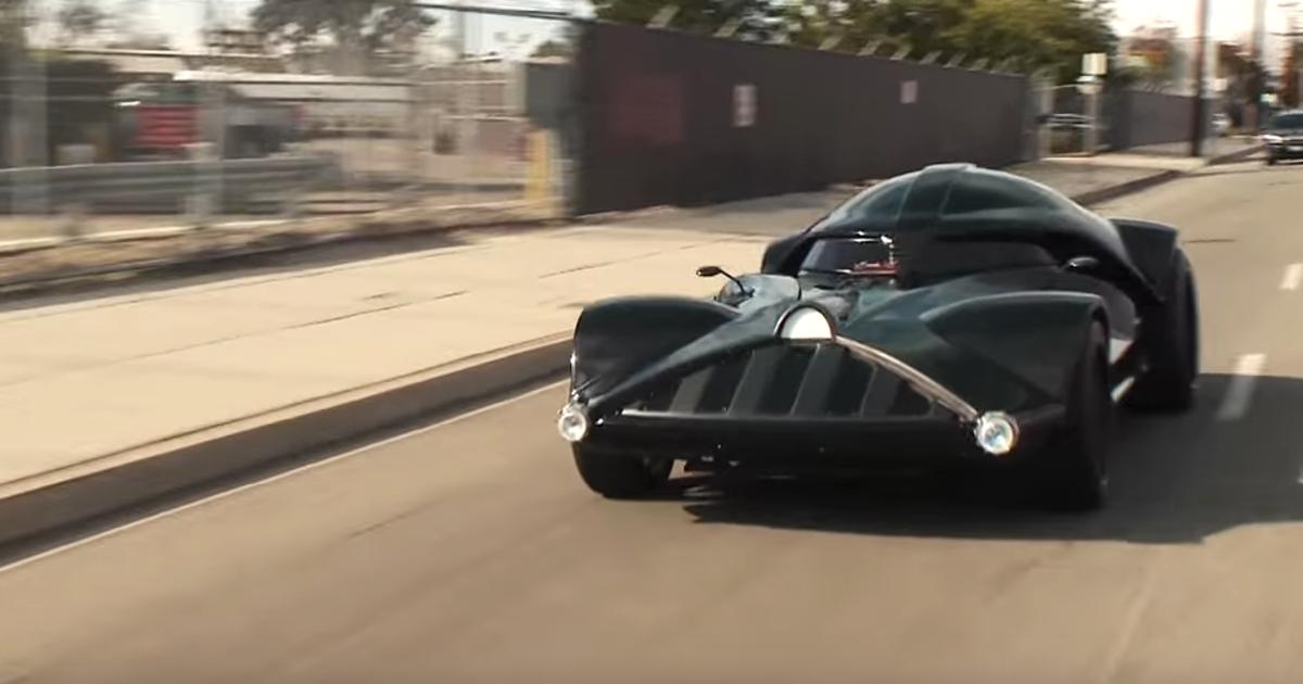Hot Wheels Darth Vader Car Featured On 39 Jay Leno 39 S Garage