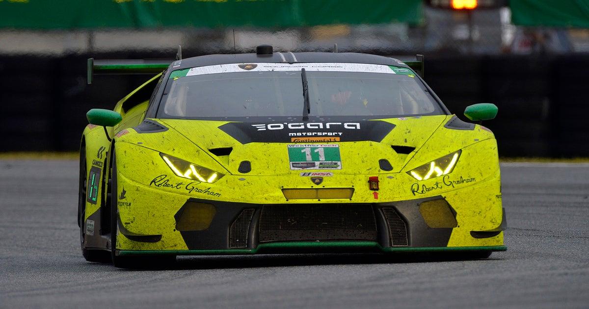 Imsa Enacts Sandbagging Rule Lamborghini Penalized After