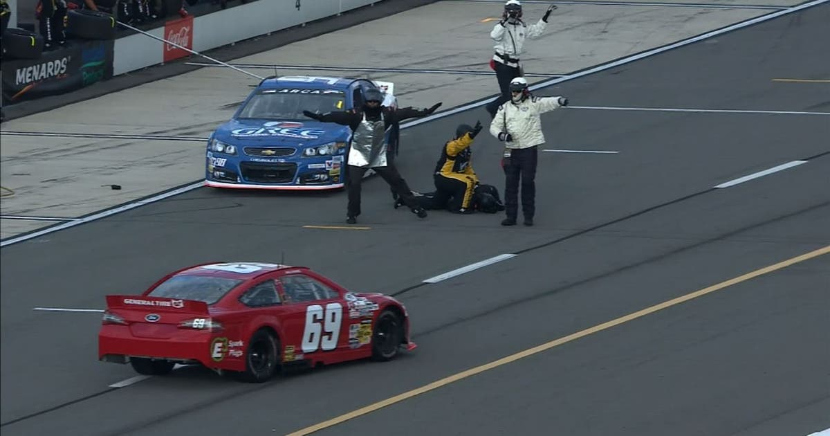 Gofundme Account Set Up For Jackman Hit In Arca Race Fox
