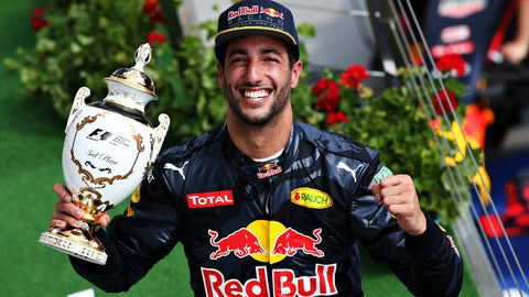 Daniel Ricciardo's career in photos
