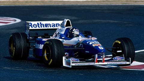 5. Williams FW18