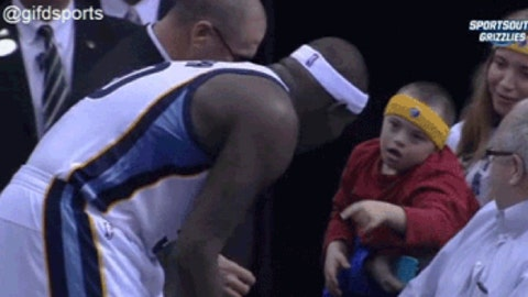 While Z-Bo offers the actual shirt off his back