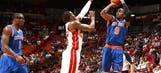 J.R. Smith shoots an NBA-record 22 three-pointers in Knicks' loss