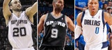 Spurs-Mavs playoff series delivers great hoops, lots of babies