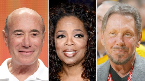 David Geffen/Oprah Winfrey/Larry Ellison