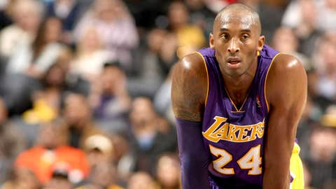 Kobe Bryant, SG, Los Angeles Lakers