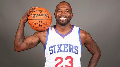 Jason Richardson, 34, Philadelphia 76ers