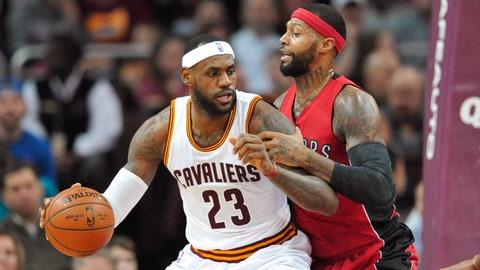 No. 5 Toronto Raptors vs. No. 12 Cleveland Cavaliers