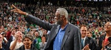 Bill Russell serves LeBron James after Mount Rushmore comments