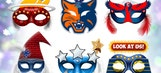 Check out these carnival-style masks for all 30 NBA teams
