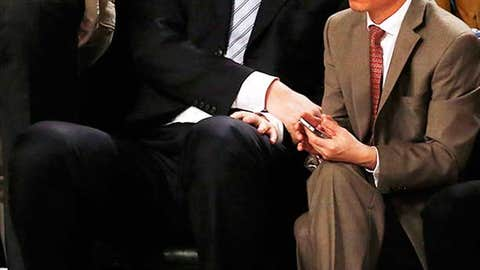 Even among 7-footers, it's hard to miss Yao