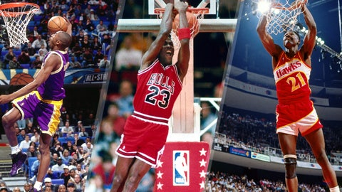 NBA's greatest dunkers of all time