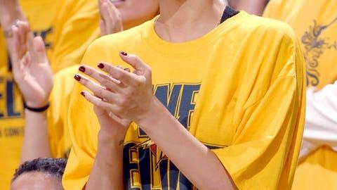 Golden State Warriors: Jessica Alba