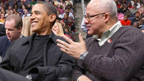 Chicago Bulls: Barack Obama