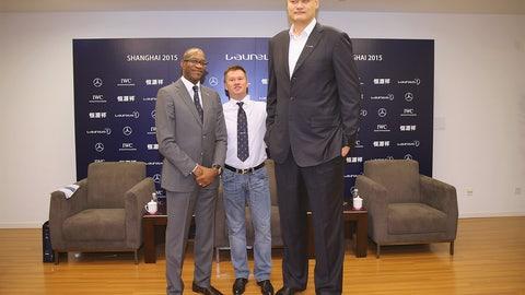 Yao Ming vs. Alexei Nemov