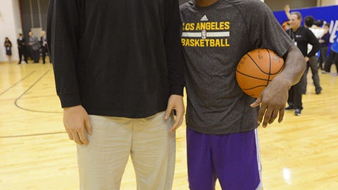 Yao Ming vs. Kobe Bryant