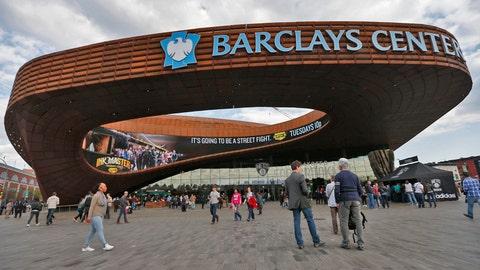 Brooklyn Nets: $1.7 billion