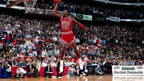 1) 1988 Slam Dunk contest