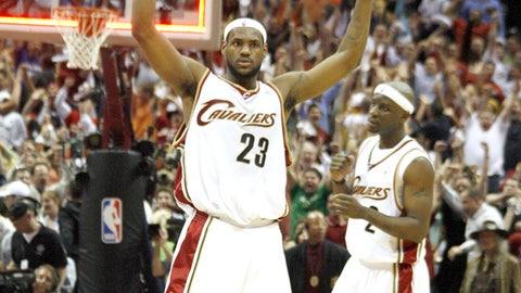 2005-06 East quarterfinals: Cavaliers 4, Wizards 2