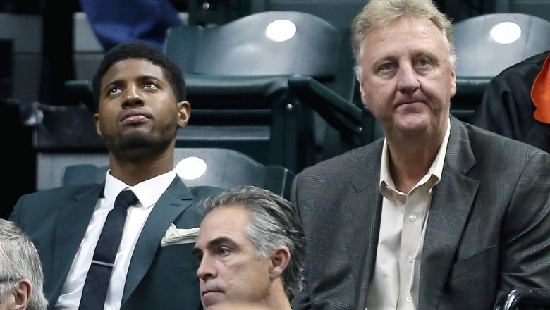 Larry Bird might have opened the door for Paul George's Indiana exit