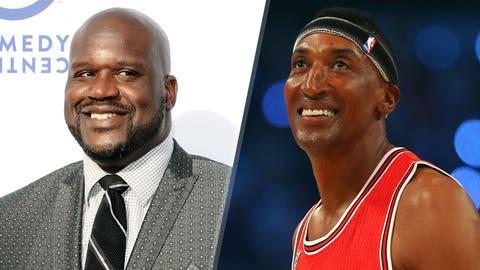 Shaq vs. Scottie Pippen