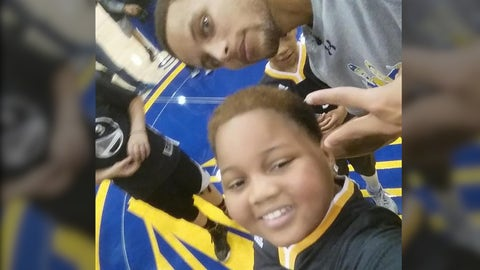 Steph Curry & Taliq Davis