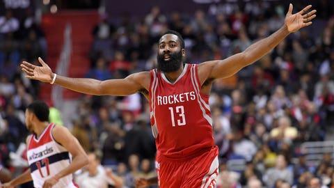 Houston Rockets: James Harden winning MVP