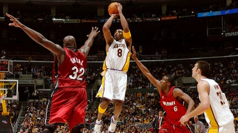 2004: Heat 104, Lakers 102 (OT)