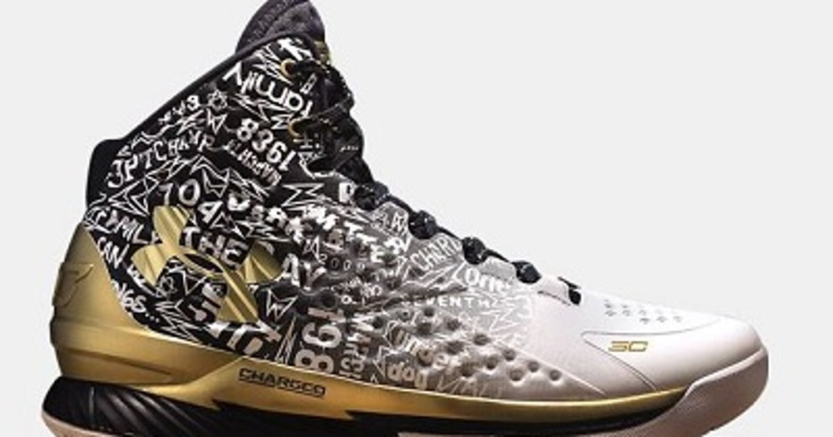 stephen currys  mvp sneakers   sold  fox sports