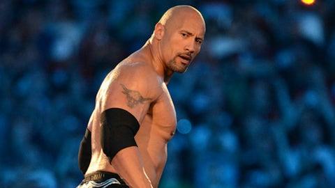 Dwayne Johnson aka The Rock (pro wrestling)