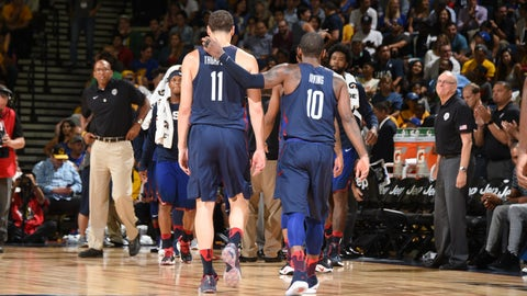 The 3-point line abandons Team USA
