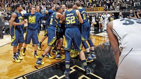 Wolverines win in OT
