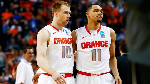 Syracuse's title hopes dashed