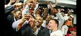 Vols celebrate Mercer romp with epic locker room selfie