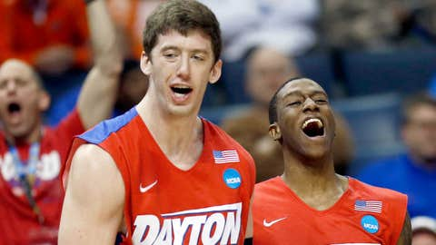 South: No. 11 Dayton 82, No. 10 Stanford 72