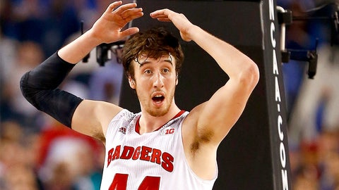 Frank Kaminsky, Badgers center