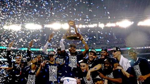 April runner-up: April 7 -- UConn men win NCAA basketball tournament