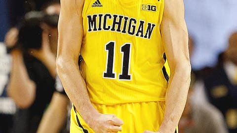 76ers (from New Orleans): Nik Stauskas, SG, Michigan