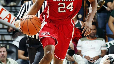 Suns (from Washington): T. J. Warren, SF, N.C. State