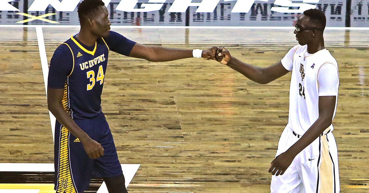 UC Irvine junior, UCF frosh meet in unique battle of 7-foot-6'ers | FOX Sports