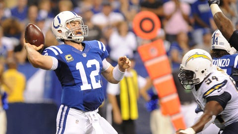 Indianapolis Colts (last week: 21)