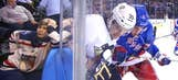 This young New York Rangers fan was not impressed