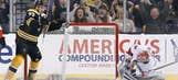 Bergeron leads Boston surge as Bruins rout Senators