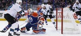 Pavelski nets 3 goals, 4 points in Sharks win over Oilers