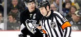 Even the officials are taking shots at Crosby now