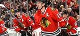 Sharp lifts Blackhawks past Canadiens in OT